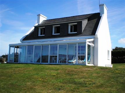 Location vacances maison les abers plan a1 location for Achat maison bretagne vue mer