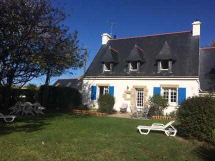Location vacances maison pays bigouden plan e1 maison bretagne penmarc - Maison prefabriquee bretagne ...