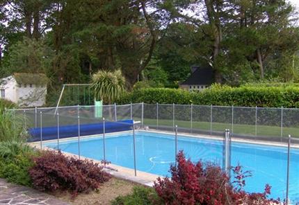 Location vacances maison fouesnant plan f1 maison avec for Location bretagne piscine